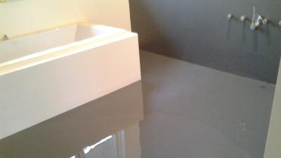 Badkamer Met Gietvloer : Verbion vloeren winschoten gietvloer en wanden coaten badkamer