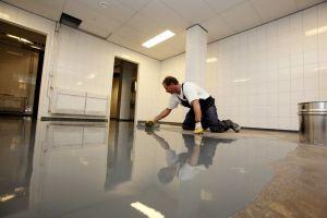 Gietvloer Wanden Badkamer : Verbion vloeren winschoten gietvloer en wanden coaten badkamer